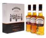 Bowmore Whisky 42% Mini Giftpack 3x20cl