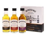 Bowmore Whisky 42% Mini Giftpack 3x5cl