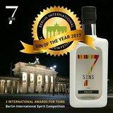7 SINS Pride Gin 50cl + 4-pack Fever-Tree gratis_