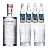 The Botanist Islay Dry Gin 70cl Promo Pack