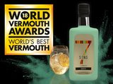 7 SINS Envy Vermouth 50cl + 4-pack Fever-Tree Ginger Ale_