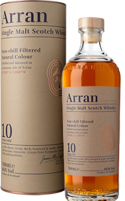 Arran 10 Years Single Malt Whisky 46% 70cl