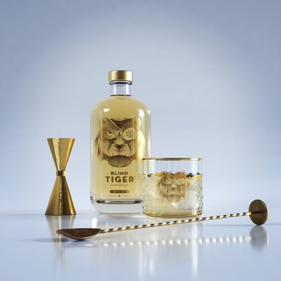 Blind Tiger Liquid Gold Batch 3 Gin 50cl