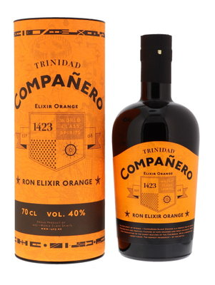 Companero Ron Elexir Orange Rum 40% 70cl