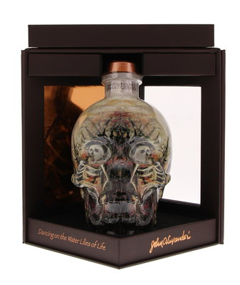 Crystal Head John Alexander Vodka 40% 70cl Limited Edition Giftbox