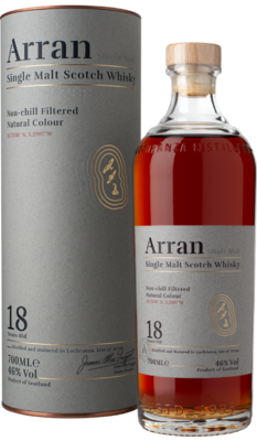 Arran 18 Years Single Malt Whisky 46% 70cl