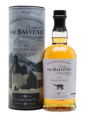 Balvenie 14 Years The Week of Peat Whisky 48,3% 70cl
