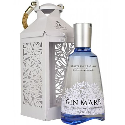 Gin Mare 70cl Lantaarn Giftpack