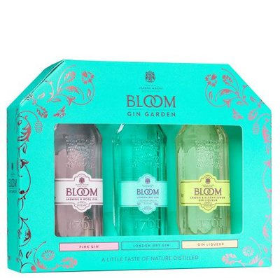 Bloom Gin Mini Giftpack 3x5cl