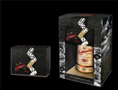 Matusalem Gran Reserva Rum 15 Years 70cl Calle 8 Domino Giftbox