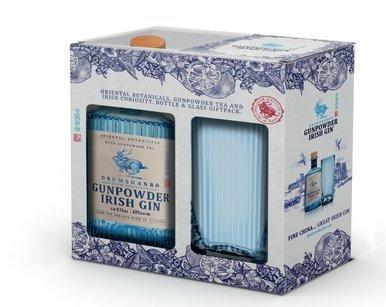 Gunpowder Irish Gin 43% 50cl Glas Giftpack