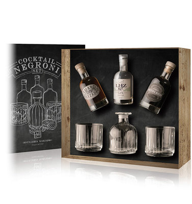 Marzadro Negroni Cocktail Set 3x20cl