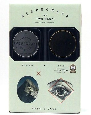 Scapegrace Gin Twinpack 49,6% 2x20cl