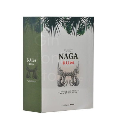 Naga Rum 12 Years 40% 70cl Glas Giftbox