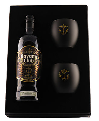 Havana Club 12 Years Tomorrowland XV Limited Edition Rum 40% 70cl Giftbox
