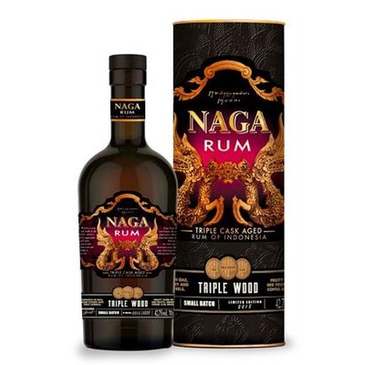 Naga Triple Wood Aged Rum 42,7% 70cl