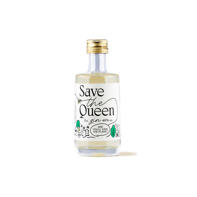 Save The Queen Gin 46% Mini 5cl