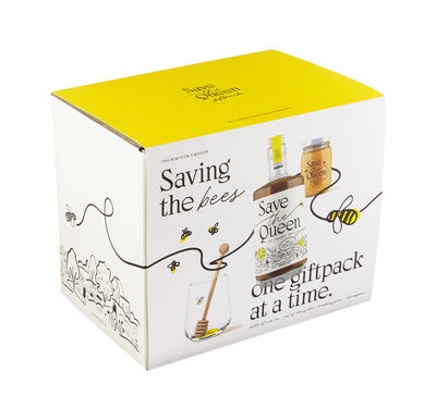 Save The Queen Rum 40% 50cl Giftbox