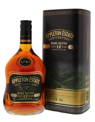 Appleton Estate Rare Blend 12 Years Rum 43% 70cl