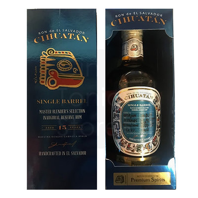 Cihuatan 15 Years Single Cask Limited Edition Rum 53,3% 70cl
