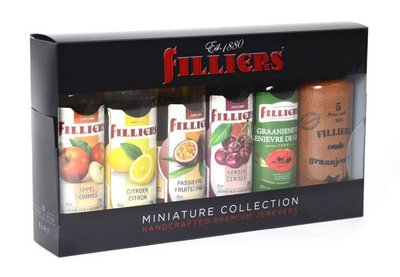 Filliers Jenever Miniature Collection Box 20% 6x4cl