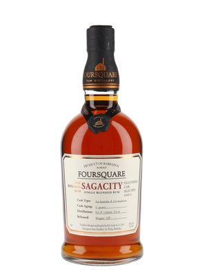 Foursquare Sagacity 12 Years Single Blended Rum 48% 70cl