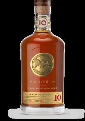 Bacardi Gran Reserva Diez Rum 10 Years 40% 70cl
