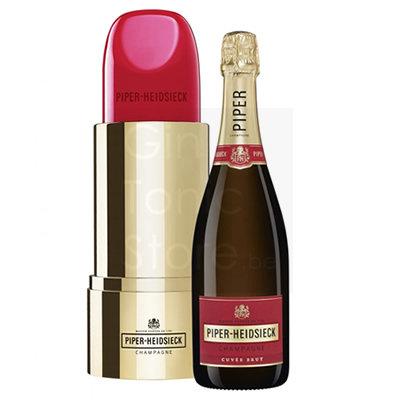 Piper Heidsieck Cuvée Brut 75cl Lipstick Giftbox