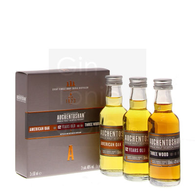 Auchentoshan Whisky 43% Mini Giftpack 3x5cl