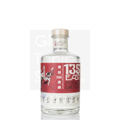 135° East Hyogo Dry Gin 42% 70cl