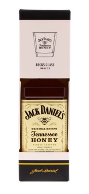 Jack Daniel's Honey Whisky 35% 70cl Glas Giftbox