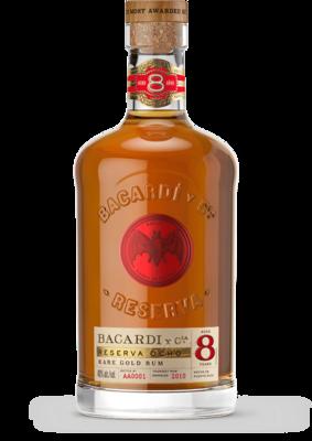 Bacardi Gran Reserva Rum 8 Years 40% 70cl
