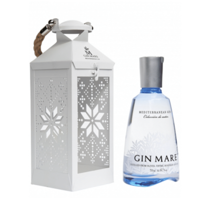 Gin Mare 70cl Lantaarn Winter Edition Giftpack