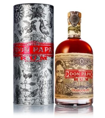 Don Papa Rum 7 Years 70cl Metal Canister Giftbox 2019