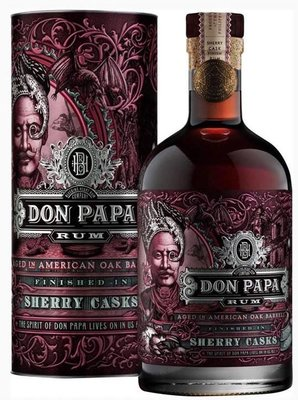 Don Papa Sherry Cask Finish Rum 45% 70cl