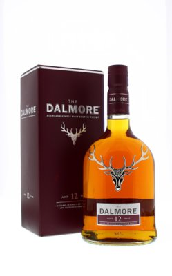 The Dalmore 12 Years Single Malt Whisky 40% 70cl
