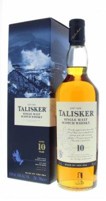 Talisker 10 Years Single Malt Whisky 45,8% 70cl