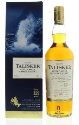 Talisker 18 Years Single Malt Whisky 45,8% 70cl