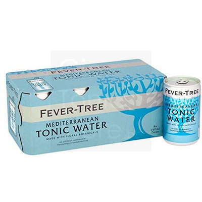Fever-Tree Mediterranean Tonic Water Blikjes 8x150ml