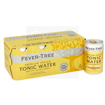 Fever-Tree Indian Tonic Water Blikjes 8x150ml
