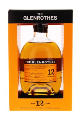 The Glenrothes 12 Years Single Malt Whisky 40% 70cl