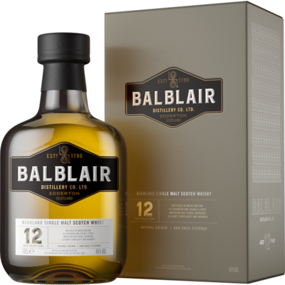 Balblair 12 Years Single Malt Whisky 46% 70cl