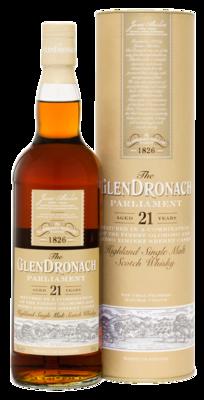 Glendronach Parliament 21 Years Single Malt Whisky 48% 70cl
