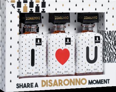 Disaronno Amaretto I Love You 28% 3x5cl