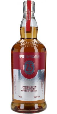 Springbank 25 Year Old 2020 Release Whisky 46% 70cl