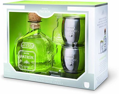 Patron Silver Tequila 40% 70cl Mug Giftpack