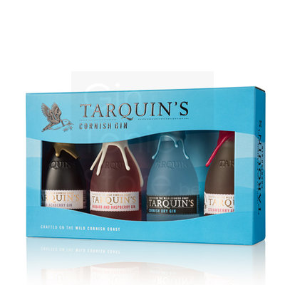 Tarquin's Dry Gin Miniature Collection 4x5cl