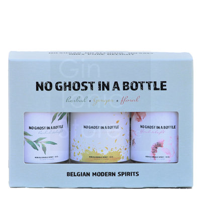No Ghost In A Bottle Mini Collection 0% 3x10cl