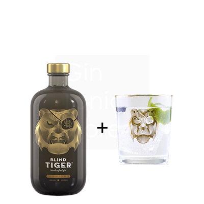 Blind Tiger Imperial Secrets Gin 45% 50cl + gratis glas