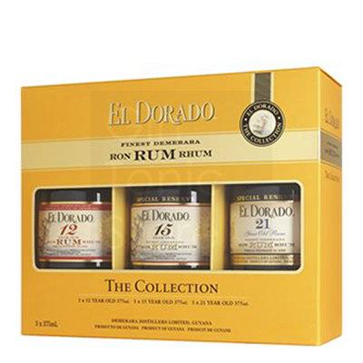 El Dorado Rum The Collection 3x35cl